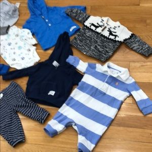 12 pieces of baby clothes for one price